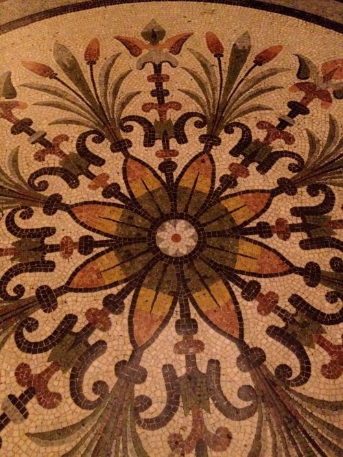 detail of the floor
