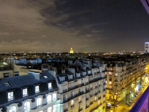 Can you imagine living in one of these apartments this close to the Eiffel Tower?