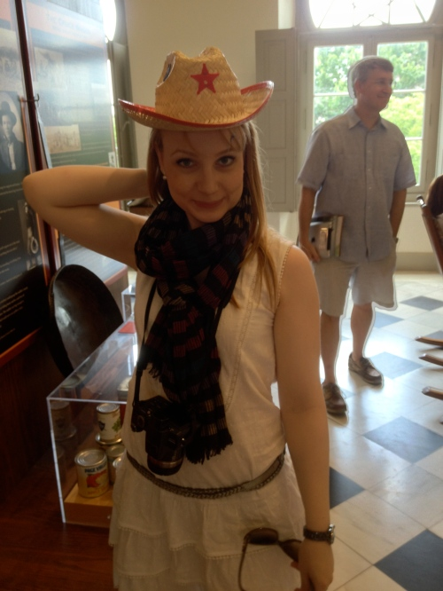 Claire thinks she should have been a cowgirl.