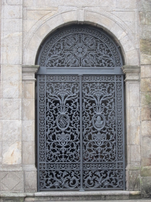 gorgeous iron gates
