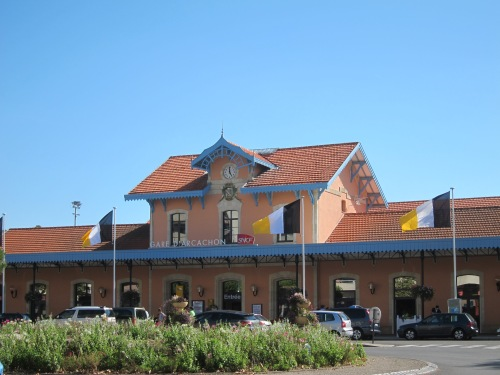 Train station in Arcachon