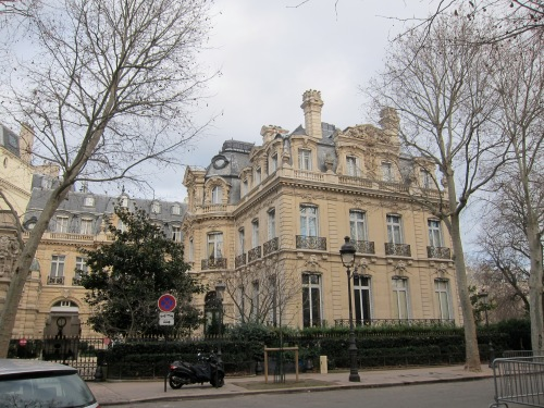 One of my fantasies is to own an apartment that looks out onto Parc Monceau.