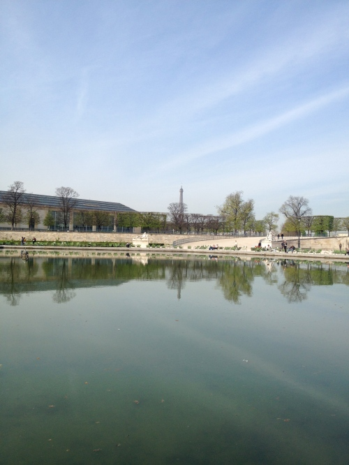 early morning- Tuileries