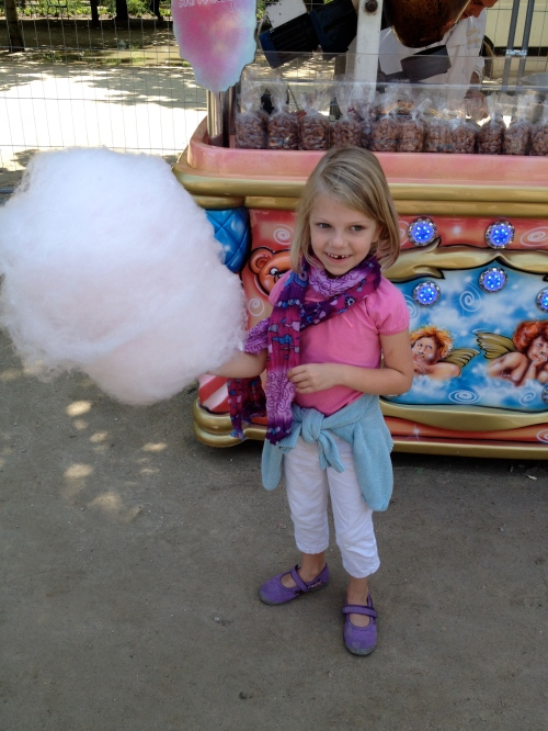 a cloud of cotton candy for my niece