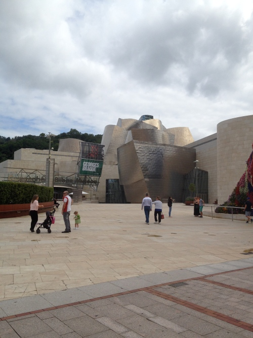 The Guggenheim Museum-Bilbao
