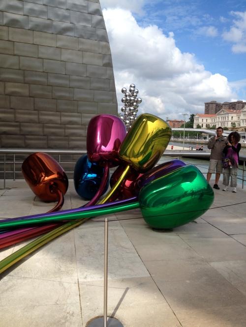 """""""Tulips""""- Guggenheim Museum"""