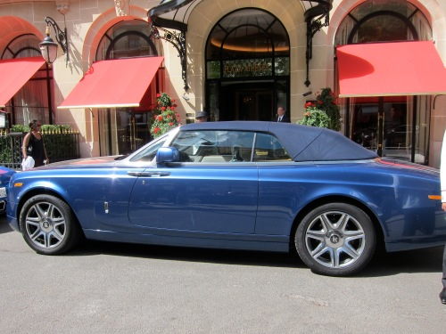 a Bentley convertible (I think)
