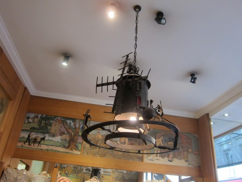 and the wind mill light fixture