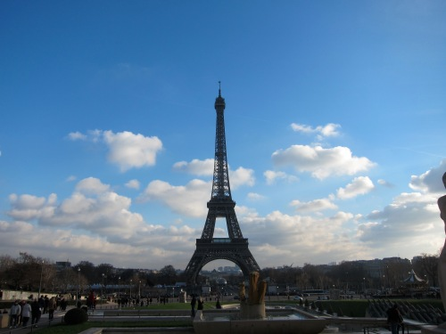 One last view from Trocadero.