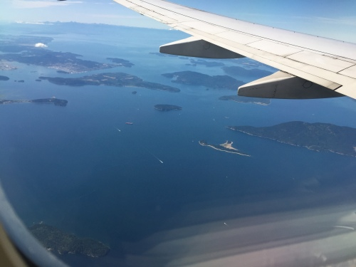 and finally some coastline!