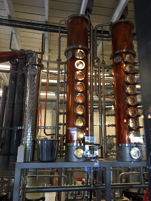 I loved the copper at Liberty Distillery.