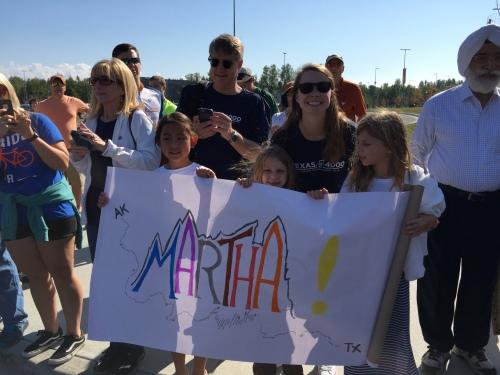 Martha's fan club